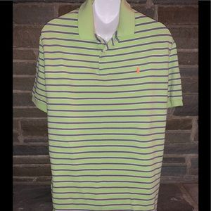 Polo by Ralph Lauren Lime Green/Pink/Blue Stripe